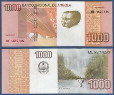 ANGOLA 1000 Kwanzas 2012  UNC  P.156