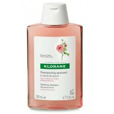 Klorane Shampoo With Peony Soothing and Anti-irritant For Irritated Scalp 200ml