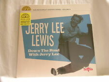 """JERRY LEE LEWIS Down The Road BLUE vinyl NEW SEALED 10"""" LP"""