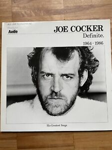 LP Vinyl 12 Inch, Joe Cocker, Definite 1964-1986