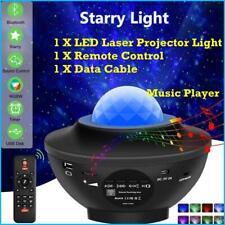 Bluetooth LED Galaxy Projector Starry Night Lamp Star Projection Night Light USB