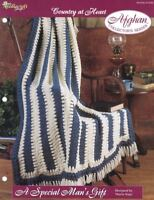 A Special Man's' Gift Country at Heart Afghan Pattern The Needlecraft Shop TNS