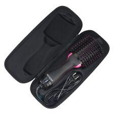 Black Portable Travel HARDCASE ONLY! for Revlon One-Step Hair Dryer Comb Brush