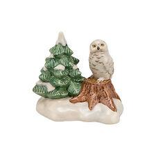"""Goebel Weihnacht Winterwald  """" Wächter des Winterwaldes """" Schnee Eule"""