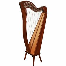 New Lever Harp 27 String Harp Celtic Harp Irish Harp With Gig Bag & Tunning Key