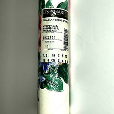 Eisenhart Wallcovering Border GHX2961 White Floral 7.2 inches x 5 yds NEW Sealed
