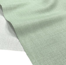 Plain Soft Linen Look Fabric Curtain Material Dressmaking Upholstery 145cm Wide