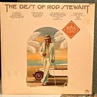 "ROD STEWART - The Best Of (Double Album)(1976 Pressing) 12"" Vinyl Record LP - EX"