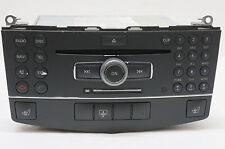 08-11 MERCEDES BENZ C W204 CLASS RADIO, AM-FM STEREO CD PLAYER  UNIT A2048709990
