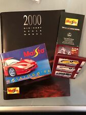 1:43 1:18 3 Cataloghi MAISTO brochures Cars Automodelli