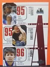 Kevin Garnett/Gugliotta/Parks card Building A Winner 96-97 Upper Deck #151