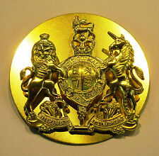 WO1 Brass Rank Badge for Leather Wrist Strap -  Worn with No 2 Dress - Military
