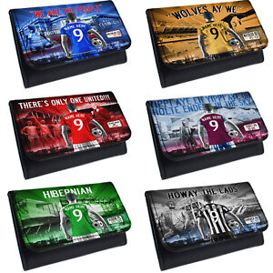 Personalised Football Tobacco Pouch Baccy Wallet Mens Christmas Birthday Gift AF