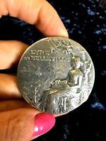 1895 Paris Famous Felix Rasumny  Splendid French medal 50mm