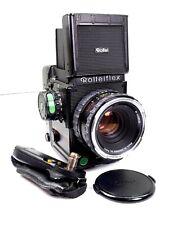 Rolleiflex 6008 professional mit-with HFT Planar 1:2,8 / 80 mm und Mag.  (02113)