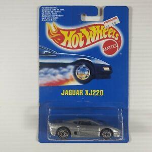 Hot Wheels Early 1990s Mainline #203 Jaguar XJ220 Mtflk Silver w/ UHs