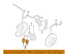 NISSAN OEM Brake-Rear Pads D4060CB10J