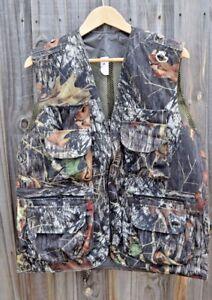 Mossy Oak Breakup infinity camo vest Hunting Camping Fishing