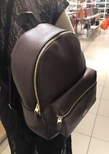 Coach Charles Backpack Large Plum Leather F38288 NWT