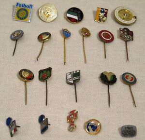 International Football (Soccer) Club Pins lot of 21