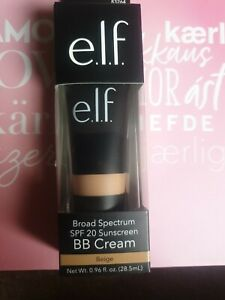 e.l.f Eyes Lips Face Broad Spectrum BB Cream SPF 20 ~ Shade Beige BNIB
