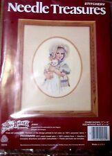 """*NEW* Jan Hagara Stitchery Kit by Needle Treasures  """"Jenny"""""""