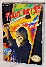 NECA Video Game NES Nintendo 8-bit Action Figure JASON VOORHEES Friday 13th MISP