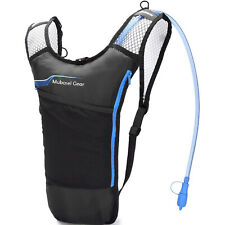 Lightweight BPA Free Thermal Insulated Hydration Backpack w 2L Bladder, Blue