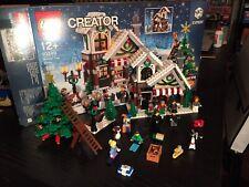 LEGO 10249 WINTER VILLAGE TOY SHOP COMPLETO + BOX con EXTRA PARTS