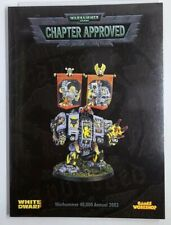 Games Workshop Warhammer 40k 3rd Edition Chapter Approved Annual 2002