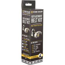 FREE SHIPPING- Work Sharp Replacement Belt Kit- Ken Onion Edition, #WSSAK081113