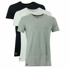 Lacoste Cotton Solid T-Shirts for Men