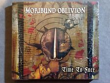 MORIBUND OBLIVION - TIME TO FACE 2007 1PR SLIPCASE SEALED! GROZA MANIAC BUTCHER