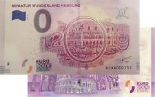 Miniatur Wunderland 2018-5 (2019-5) Null Euro Souvenirschein € 0 Euro Schein