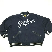 VINTAGE Mitchell & Ness New York Yankees Wool Jacket Size 54 Blue Stitched 1964
