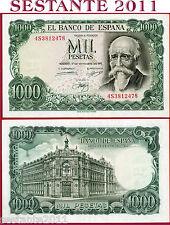SPAIN  SPAGNA - 1.000 1000 PESETAS 17.9. 1971 - P 154 - SPL++ / XF++
