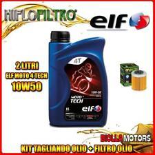KIT TAGLIANDO 2LT OLIO ELF MOTO TECH 10W50 KTM 690 Enduro R 1st Oil Filter 690CC