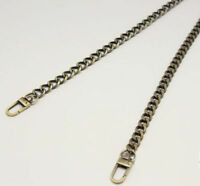 New Flat /Round Chain For Handbag Purse Or Shoulder Strapping Bag Replacement