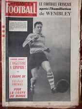 France Football n°611 (3 déc 1957) Le football français -