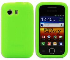 New Design Silicone Case Cover Skin for Samsung Galaxy Y S5360 - Green