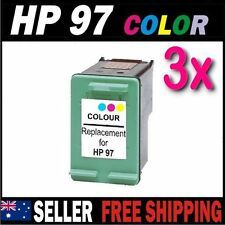 3x Color Ink for HP 97 C9363WA Photosmart 325 335 375 425 2355 2575 2610 2710