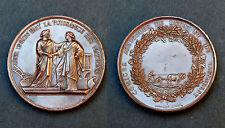 Médaille Comices Agricoles de Lyon et de Vaugneray. Cuivre, avec sa boite