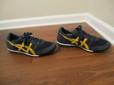 Used Worn Size 11.5 Asics Onitsuka Tiger Ultimate 81 Shoes Navy Gold White