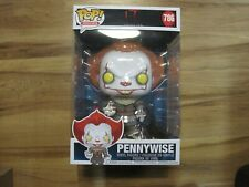Funko Pop! Movies: It Pennywise #786 10 inch Vinyl Figure with Boat