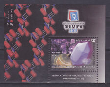 2011 Int.Year of chemistry mineral amethist stone geode URUGUAY Sc#2357 MNH