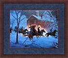 Mort Kunstler Civil War Print The Fairfax Raid Custom Gallery Framed