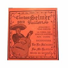 Cuerdas para Guitarron Selmer (Copper/White Nylon) Copper/White... Free Shipping