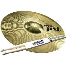 "PAISTE pst3 16"" Crash bacino + 5a tamburi drumsticks"