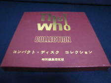 The Who Collection DBL CD Japan Limited Box Book MOD