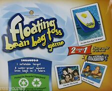Floating Bean Bag Toss Game 2 Games in 1 Play in Water or Land NIB